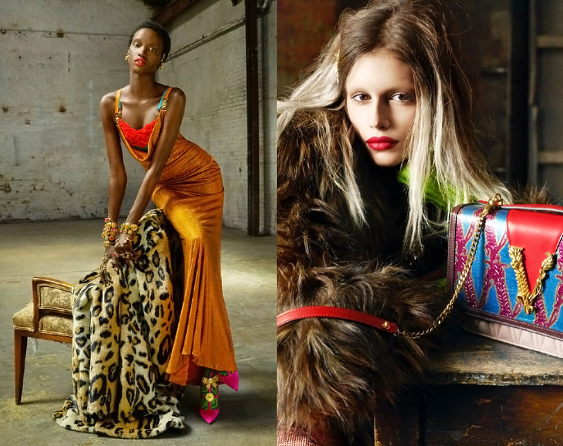 Kampania Versace na jesień 2019