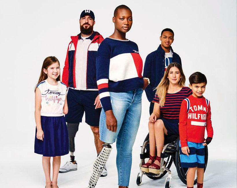 Kampania wiosna 2018 Tommy Hilfiger wprowadza na rynek kolekcję dla osób niepełnosprawnych