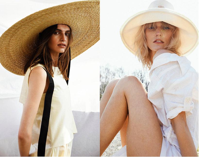 Kampania Wiosna/Lato 2019 kapelusze polskiej marki Paris+Hendzel