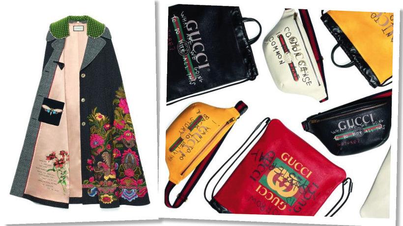 kapsułowa kolekcja domu mody Gucci i Coco Capitán