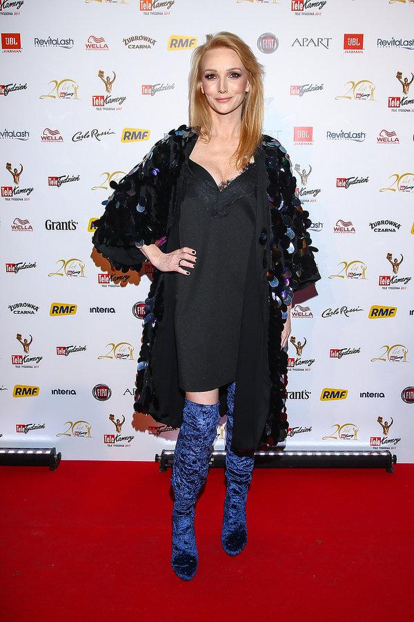 Karina Kunkiewicz na gali Telekamery 2017