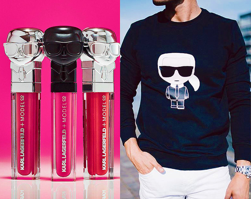 Karl Lagerfeld ikona popkultury