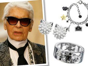 Karl Lagerfeld zaprojektował pierwszą własną kolekcję biżuterii