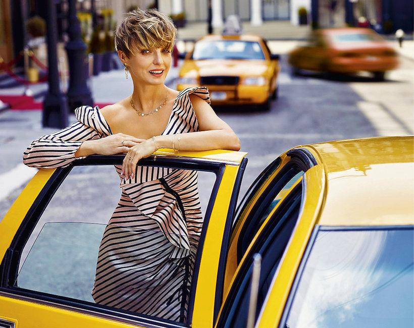Kasia Sokołowska w najnowszej kampanii marki Apart
