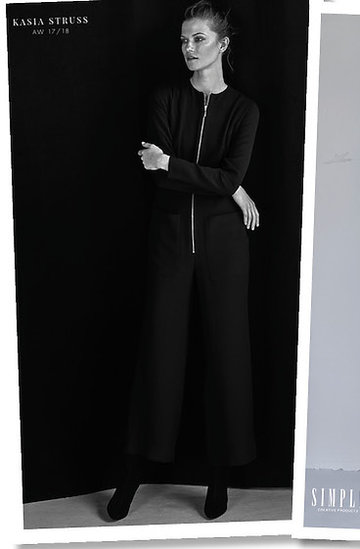 Kasia Struss w filmowej kampanii Simple na jesień 2017