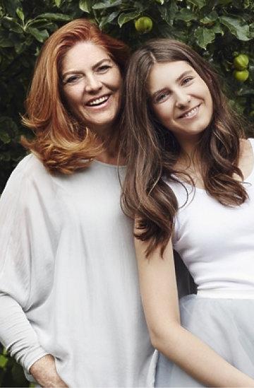 Katarzyna Dowbor z córką