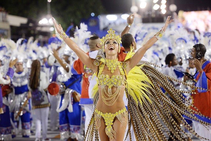 Katarzyna Stocka na karnawale w Rio