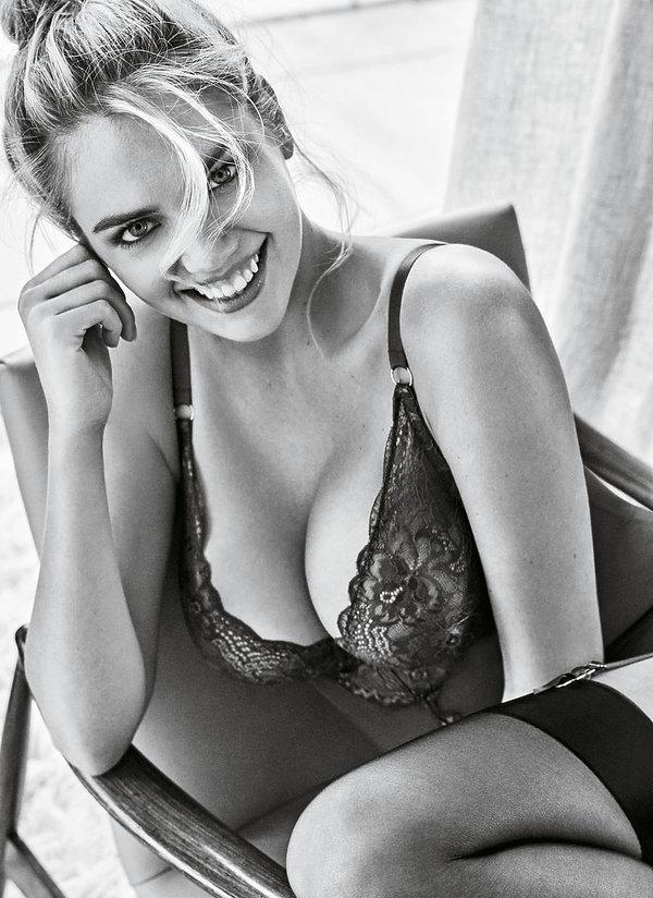 Kate Upton w  reklamie bielizny Yamamay