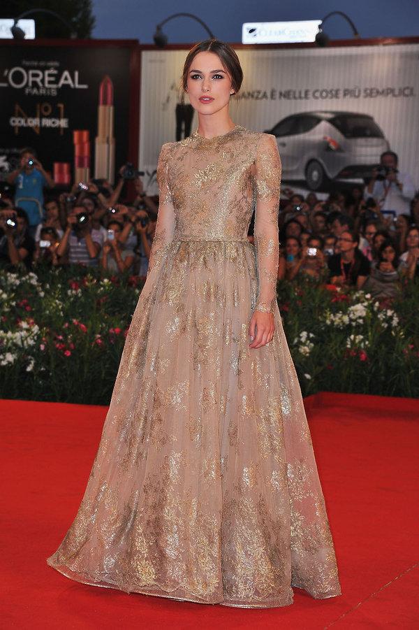 Keira Knightley Najpiękniejsze kreacje z poprzednich lat na Festiwal Filmowy w Wenecji