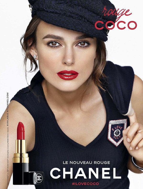 Keira Knightley w reklamie Chanel