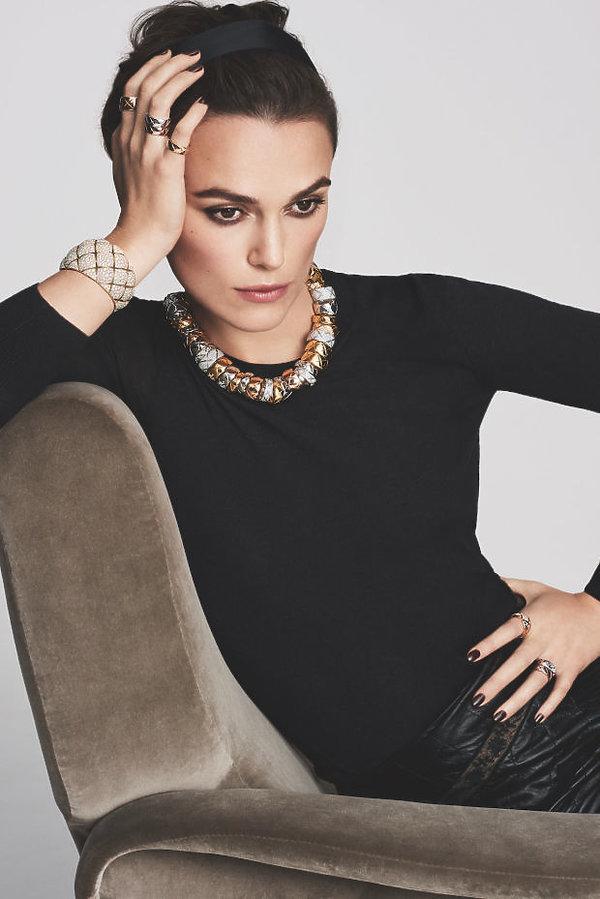 Keira Knightley w reklamie Chanel  kolekcji Coco Crush