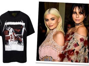 Kendall i Kylie Jenner kolekcja T-shirtów