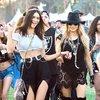 Kendall Jenner, Fergie na Coachella Festival, 2014