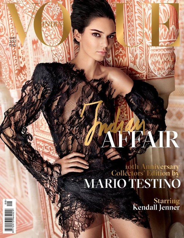 "Kendall Jenner na okładce indyjskiego ""Vogue'a"""