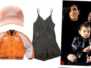 Kim Kardashian i Kanye West pierwsza kolekcja ubranek dla dzieci The Kids Supply