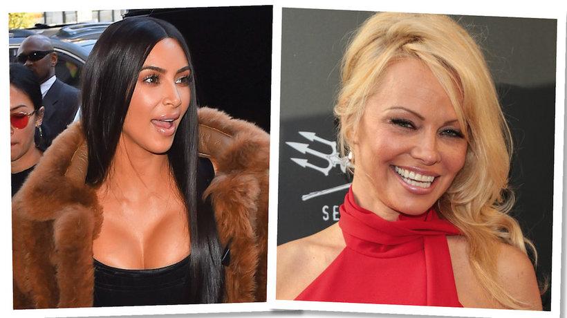 Kim Kardashian, Pamela Anderson