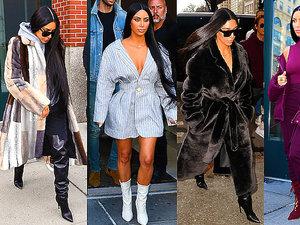 Kim Kardashian stylizcje