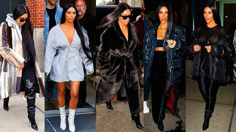 Kim Kardashian stylizcje- MAIN TOPIC