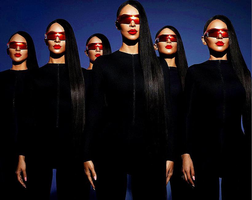 Kim Kardashian zaprojektowała kolekcję okularów dla marki Carolina Lemke Berlin
