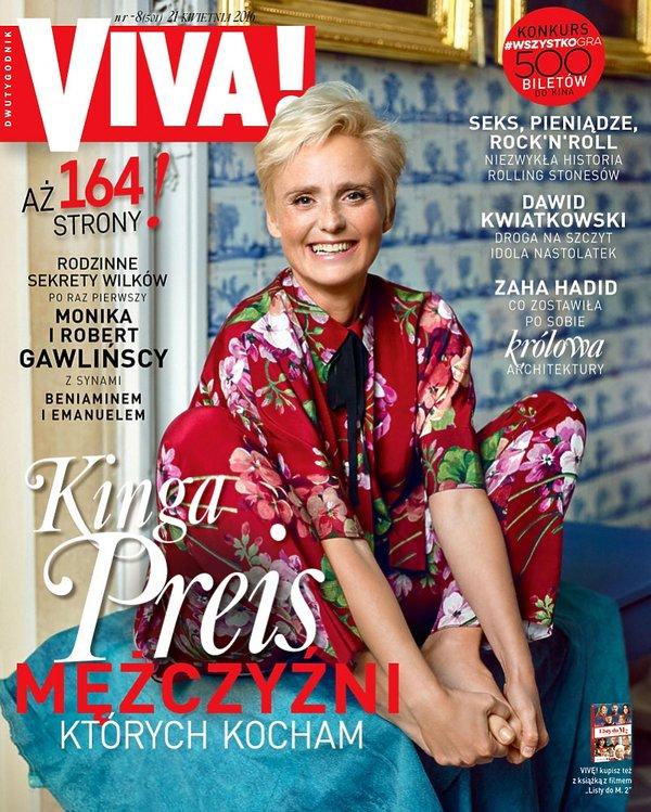 Kinga Preis na okładce VIVY!