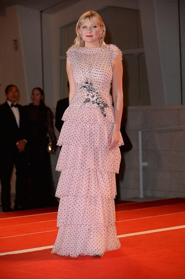 Kirsten Dunst na Festiwalu Filmowym w Wenecji