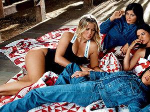 Klan Kardashian-Jenner w nowej reklamie marki Calvin Klein