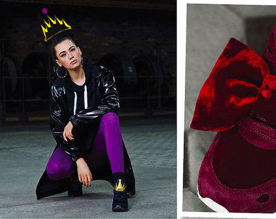 """Kolekcja butów Asics Tiger i Disneya  zainspirowana bajką o """"Królewnie Śnieżce i Siedmiu Krasnoludkach"""""""