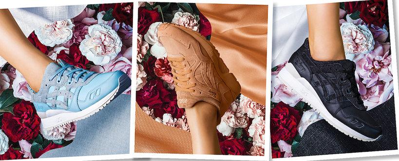 """Kolekcja butów ASICS x Disney  inspirowana filmem """"Piękna i Bestia"""""""