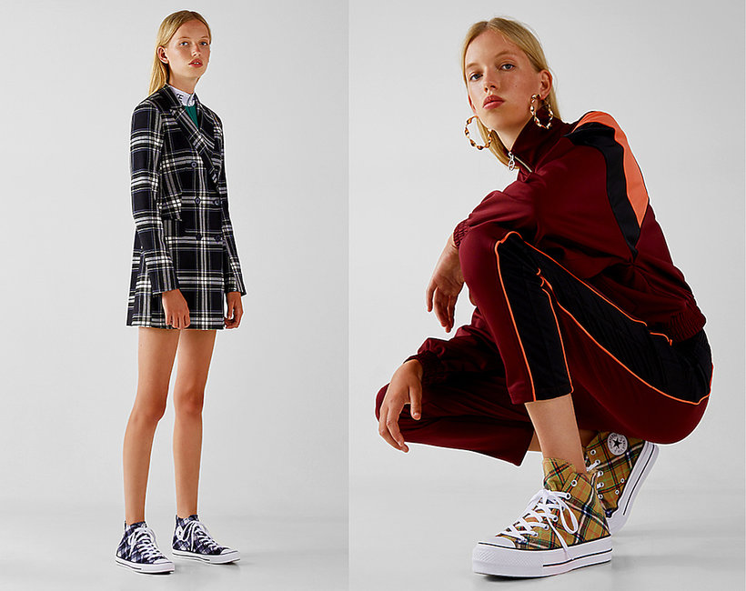 Kolekcja butów na jesień 2018 Converse x Bershka