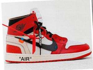 """Kolekcja butów Nike zatytułowana """"The Ten"""" zaprojektowana przez Virgil Abloh projektanta marka Off-White"""