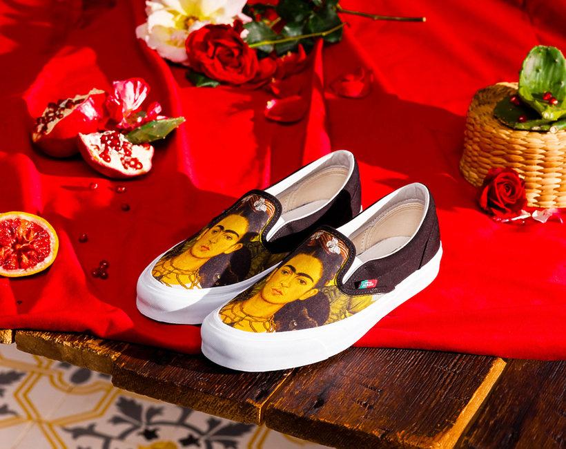 Kolekcja butów Vault by Vans x Frida Kahlo