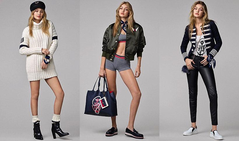 Kolekcja Gigi Hadid  dla marki Tommy Hilfiger
