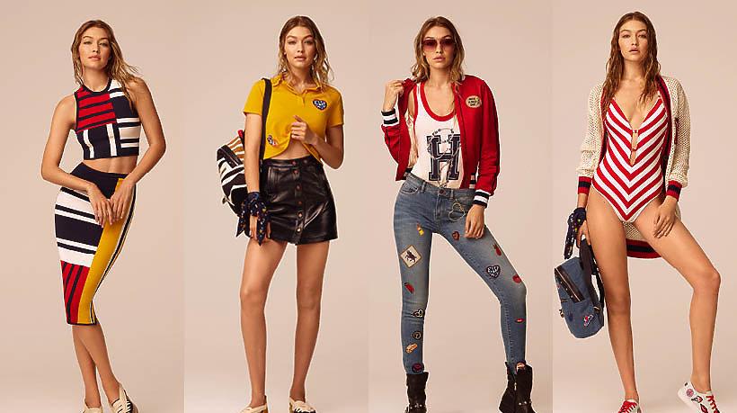Kolekcja Gigi Hadid dla Tommy Hilfiger na wiosnę 2017