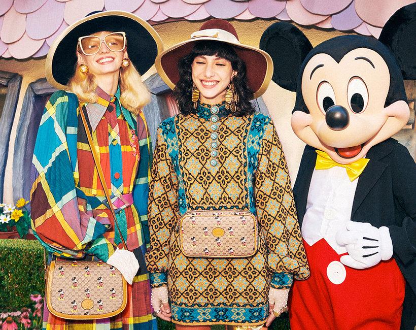 kolekcja Gucci z  Myszką Mickey na Chiński Nowy Rok