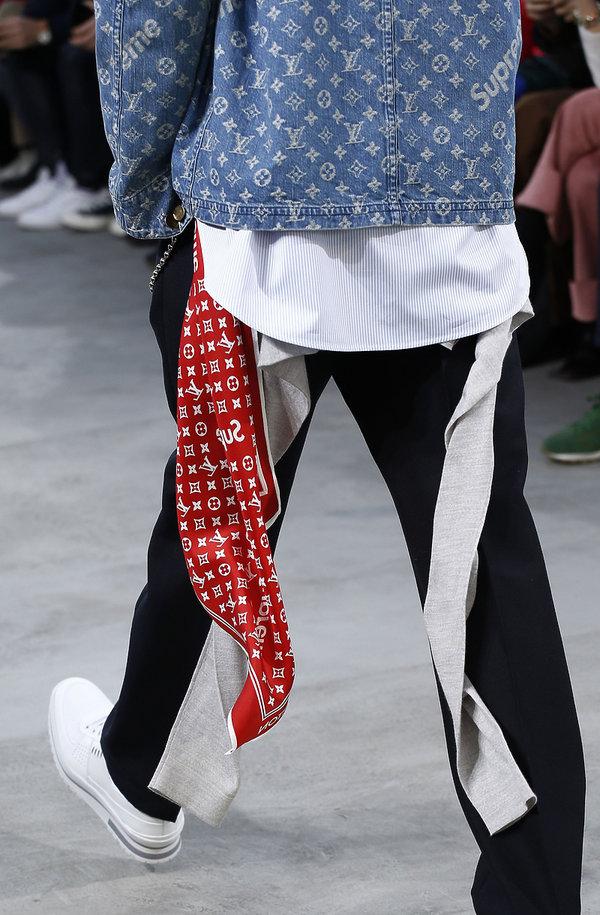 kolekcja męska Luis Vuitton x Supreme na jesień 2017