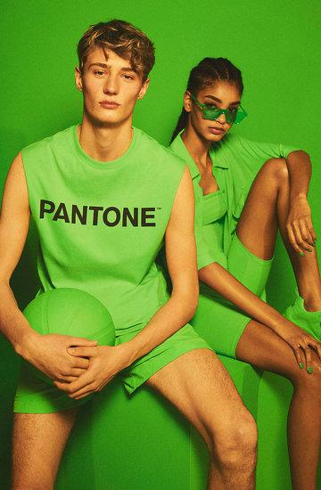 Kolekcja Pantone i Bershka