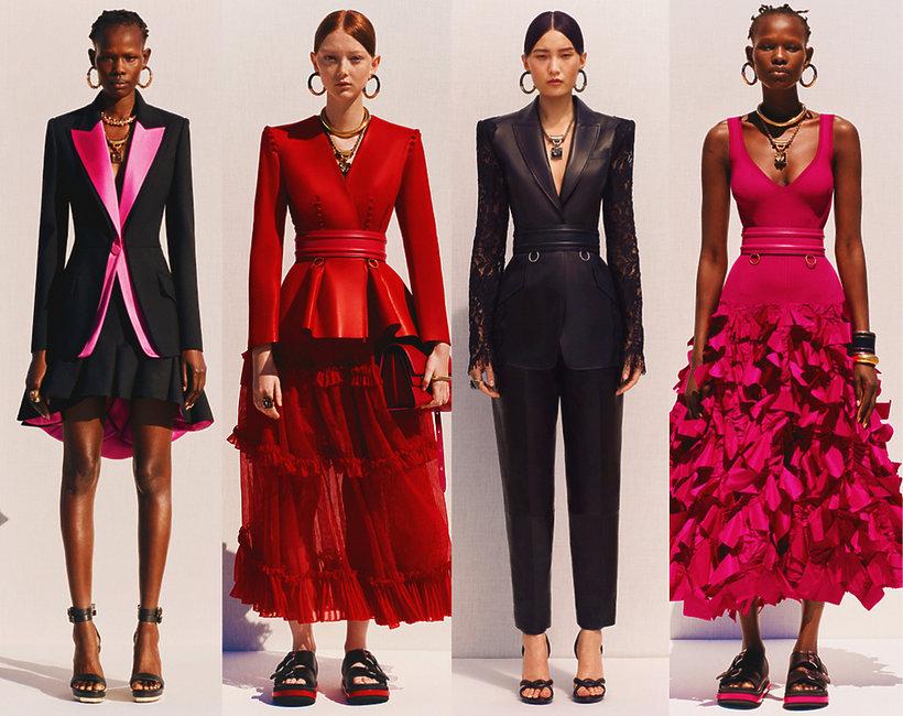 kolekcja Resort 2020 domu mody Alexander McQueen