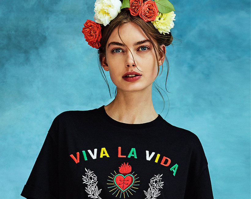 Kolekcja Stradivarius Frida Kahlo