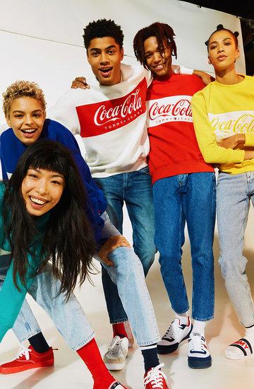 Kolekcja TommyJeans X Coca-Cola