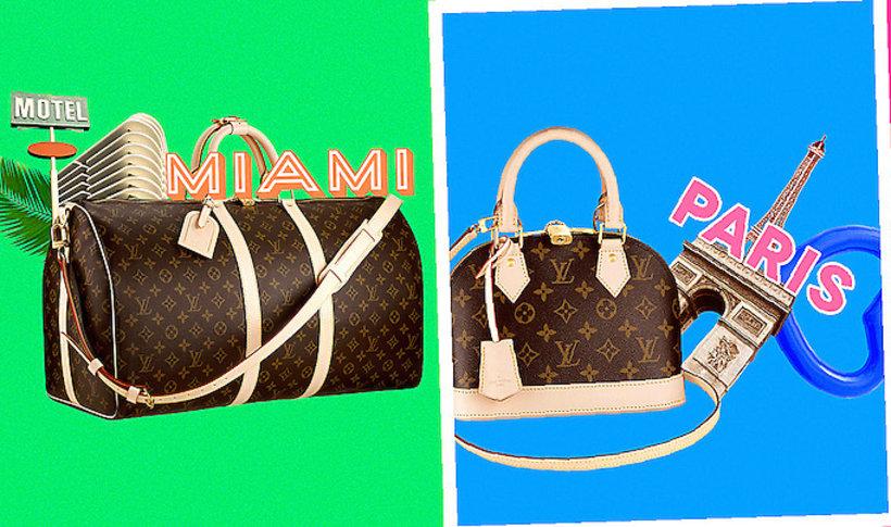 10b8459e86300 Kolekcja luksusowe torebki Louis Vuitton z kolorowymi aplikacjami   Viva.pl