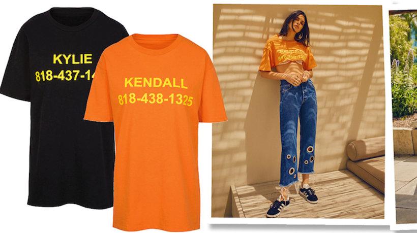 Kolekcja ubrań i dodatków Kendall i Kylie Jenner