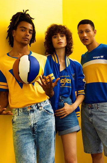 kolekcja Wrangler  Blue & Yellow wiosna/lato 2018