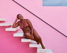 Modelka plus size w reklamie kostiumów kąpielowych Mango!