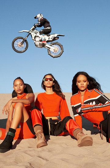 Kolekcji Fenty Pumy by Rihanna