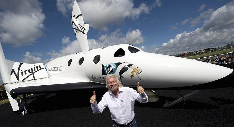 Kosmiczne loty z miliarderem Richardem Bransonem