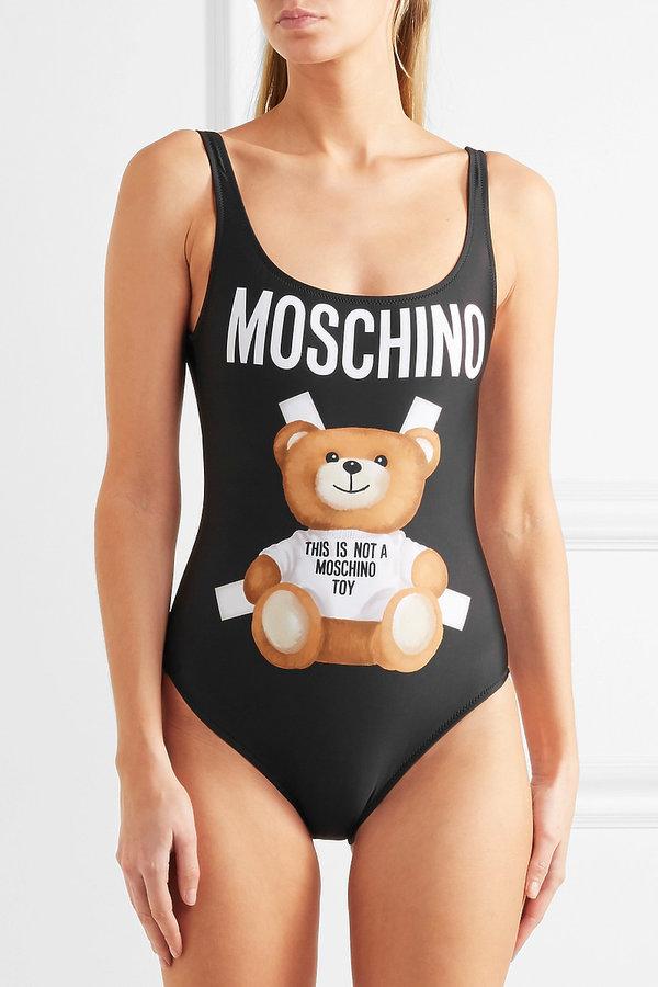 kostium kąpielowy Moschino