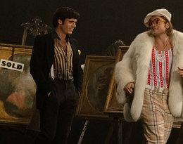 """kostiumy z filmu o Eltonie Johnie """"Rocketman"""""""