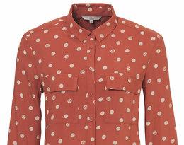 koszula marki C&A w grochy