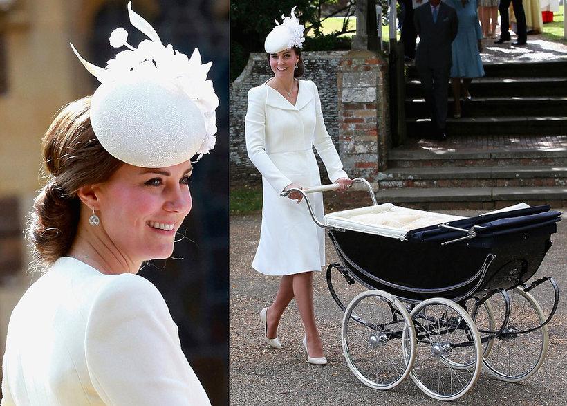 Kreacja Księżnej Kate podczas chrztu swojej córki księżniczki Charlotte