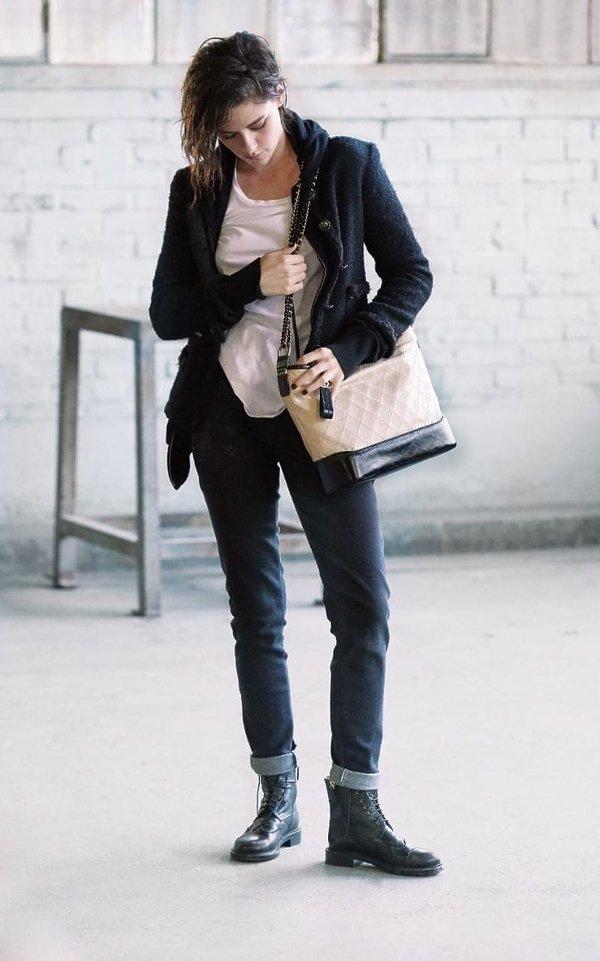 Kristen Stewart w kampanii torebek Chanel nowy model Gabrielle